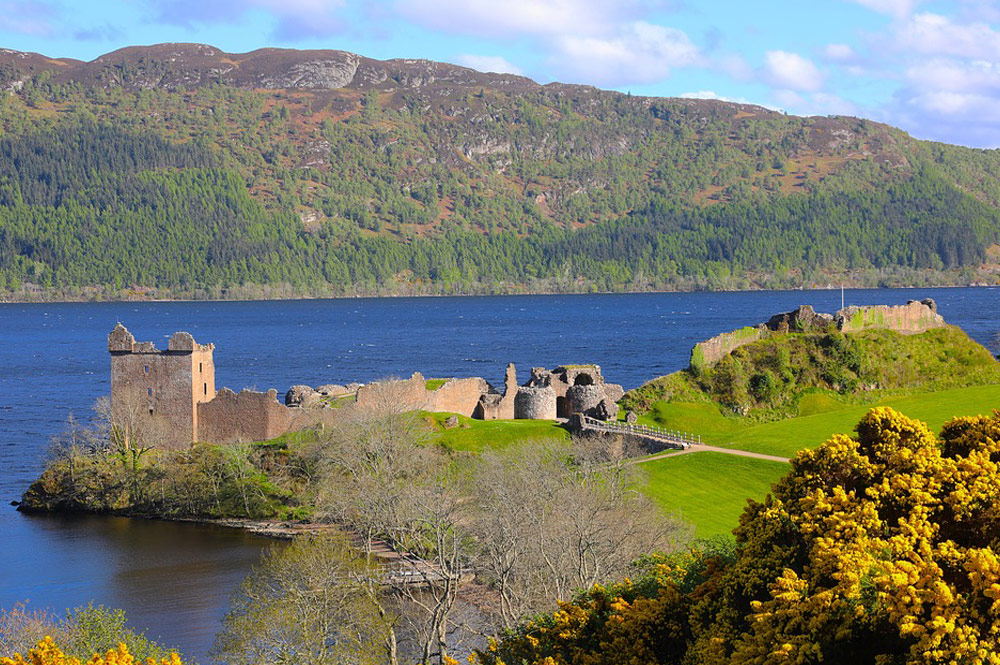Escócia - castelo de Urquhart