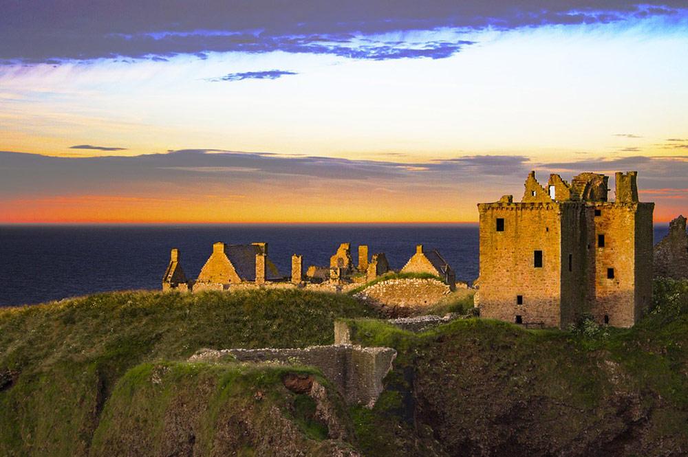 Escócia - castelo de Dunnottar