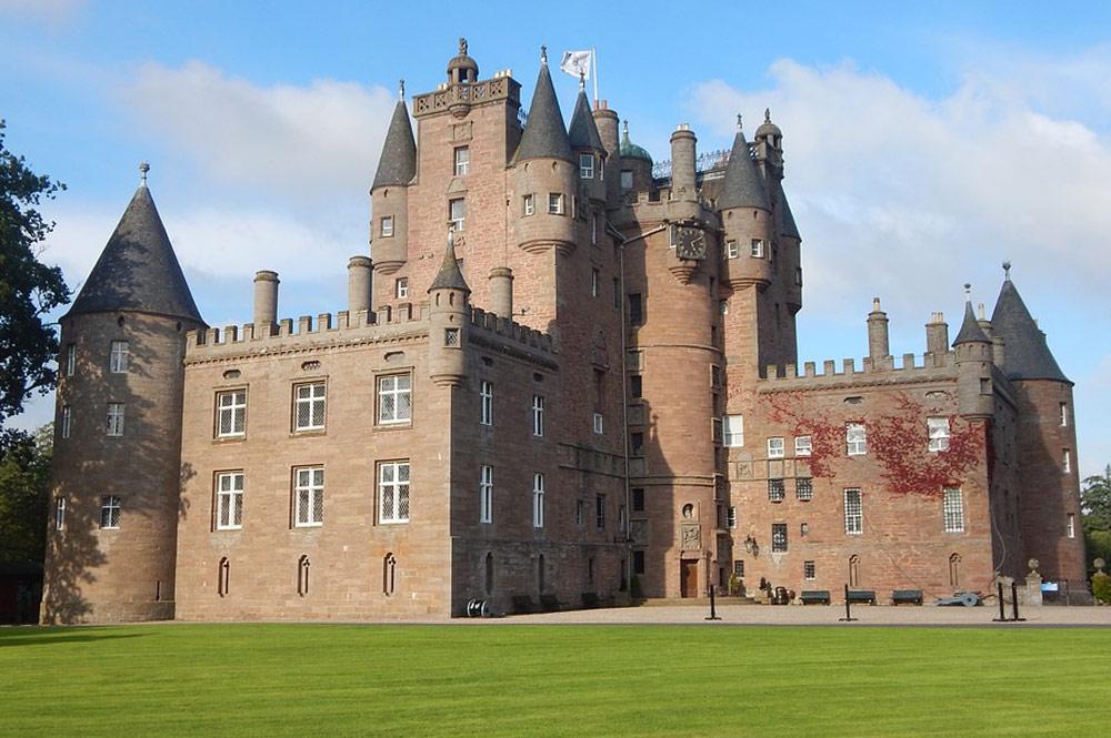 Escócia - castelo de Glamis