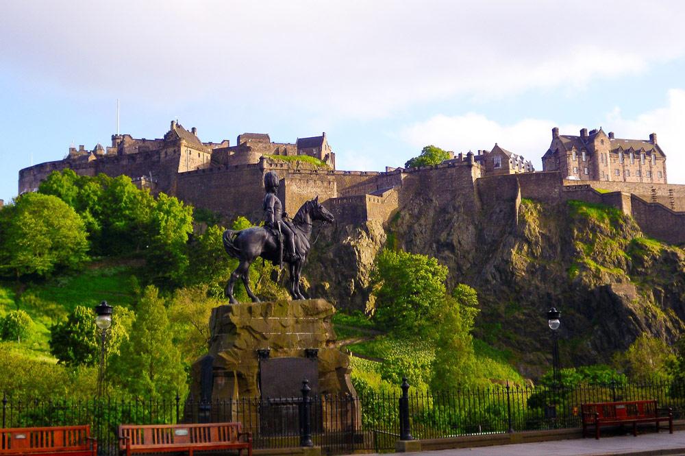 Escócia - castelo de Edimburgo