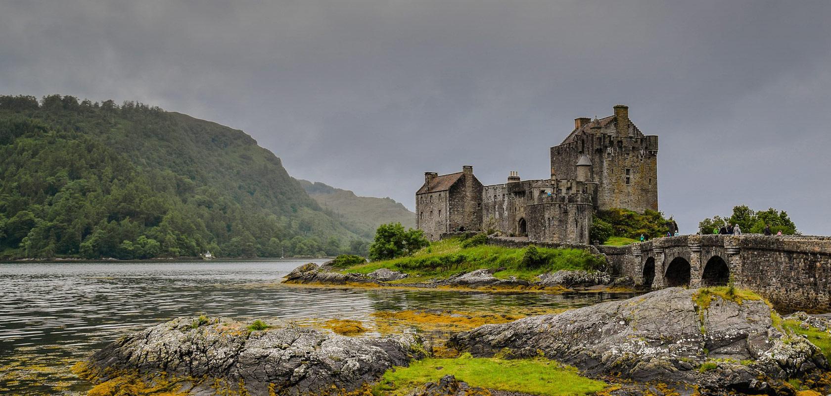 Escócia - castelo Eilean Donan