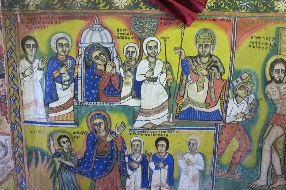 Etiópia - Igreja