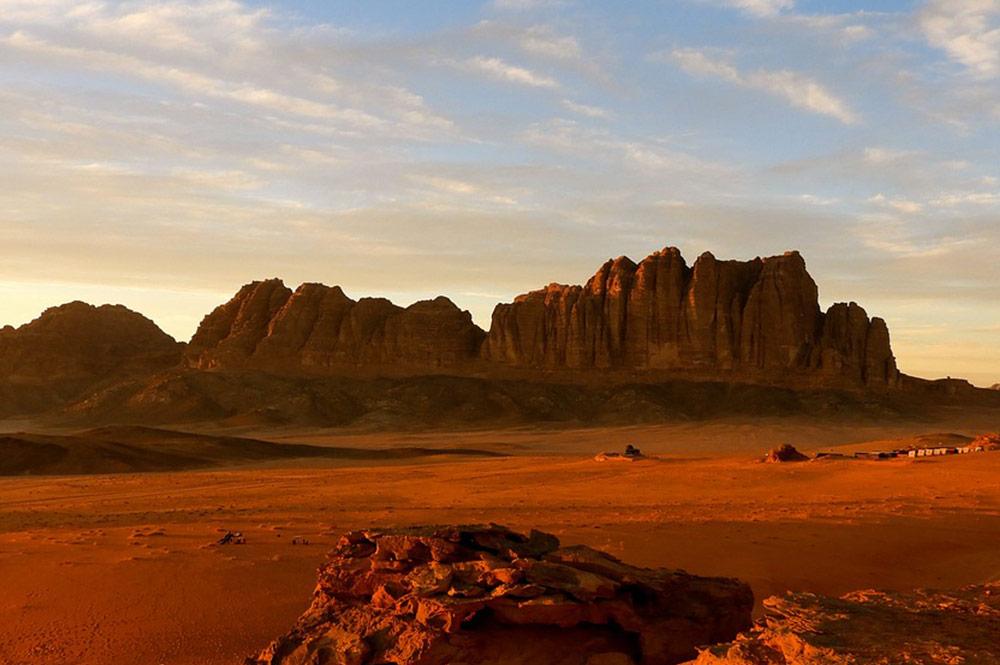 Jordânia - deserto