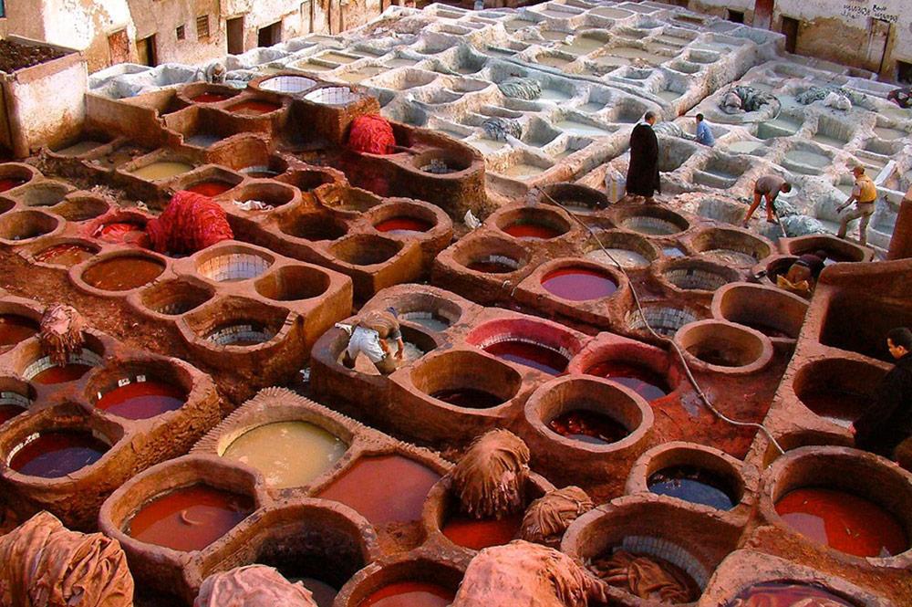Curtumes - Marrocos