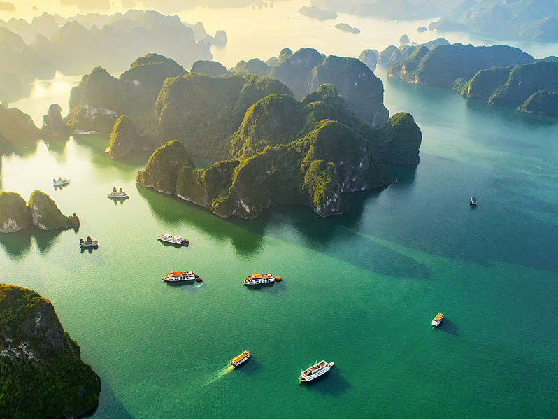 Laos-Vietname-Camboja